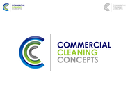 Commercial Cleaning Concepts Logo - Entry #57