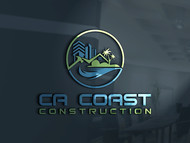 CA Coast Construction Logo - Entry #53
