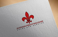 Acadiana Fire Extinguisher Sales and Service Logo - Entry #5