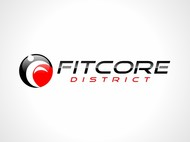 FitCore District Logo - Entry #83