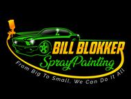 Bill Blokker Spraypainting Logo - Entry #19