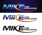Mike the Poolman  Logo - Entry #82
