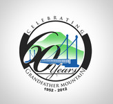 60th Anniversary of Mile High Swinging Bridge Logo - Entry #11