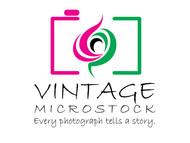 Vintage Microstock Logo - Entry #81
