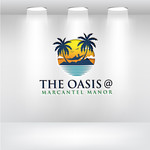 The Oasis @ Marcantel Manor Logo - Entry #10