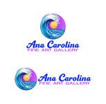 Ana Carolina Fine Art Gallery Logo - Entry #17