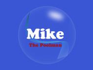 Mike the Poolman  Logo - Entry #116
