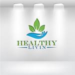 Healthy Livin Logo - Entry #604