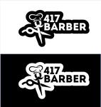 417 Barber Logo - Entry #14