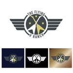 The Flying V Ranch Logo - Entry #16