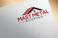 Mast Metal Roofing Logo - Entry #188
