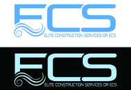 Elite Construction Services or ECS Logo - Entry #30