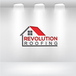 Revolution Roofing Logo - Entry #15