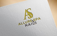 Allure Spa Nails Logo - Entry #103
