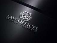 Law Offices of David R. Monarch Logo - Entry #228