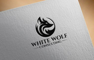White Wolf Consulting (optional LLC) Logo - Entry #113