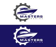 Masters Marine Logo - Entry #141