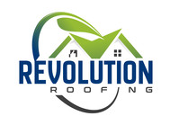 Revolution Roofing Logo - Entry #546