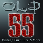 """""""OLD 55"""" - mid-century vintage furniture and wares store Logo - Entry #230"""