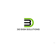 3D Sign Solutions Logo - Entry #147