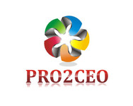 PRO2CEO Personal/Professional Development Company  Logo - Entry #7