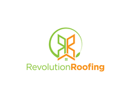 Revolution Roofing Logo - Entry #382