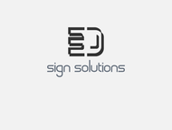 3D Sign Solutions Logo - Entry #63