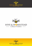 Hive & Homestead Creations Logo - Entry #68