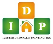 IVESTER DRYWALL & PAINTING, INC. Logo - Entry #126