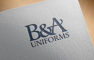 B&A Uniforms Logo - Entry #76