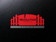 Revolution Fence Co. Logo - Entry #116