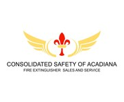 Consolidated Safety of Acadiana / Fire Extinguisher Sales & Service Logo - Entry #111