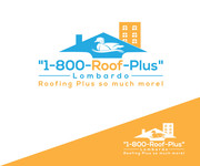 1-800-Roof-Plus Logo - Entry #142
