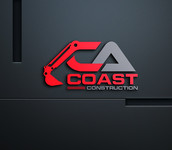 CA Coast Construction Logo - Entry #138