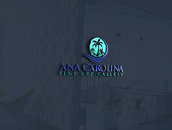 Ana Carolina Fine Art Gallery Logo - Entry #253
