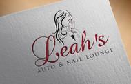 Leah's auto & nail lounge Logo - Entry #80