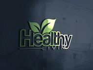 Healthy Livin Logo - Entry #491