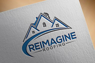 Reimagine Roofing Logo - Entry #290