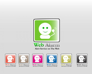 Logo for WebAlarms - Alert services on the web - Entry #12