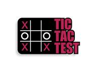 TicTacTest Logo - Entry #63