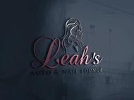 Leah's auto & nail lounge Logo - Entry #75