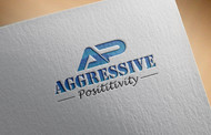 Aggressive Positivity  Logo - Entry #2