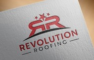 Revolution Roofing Logo - Entry #386