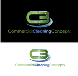 Commercial Cleaning Concepts Logo - Entry #18