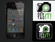Android/iOS GPS/Photo tagging App Icon Logo - Entry #23