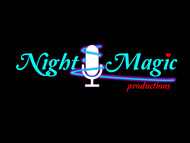Night Magic Productions Logo - Entry #42
