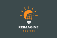Reimagine Roofing Logo - Entry #18