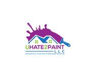 uHate2Paint LLC Logo - Entry #83