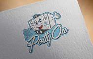 Potty On Luxury Toilet Rentals Logo - Entry #49