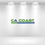 CA Coast Construction Logo - Entry #182